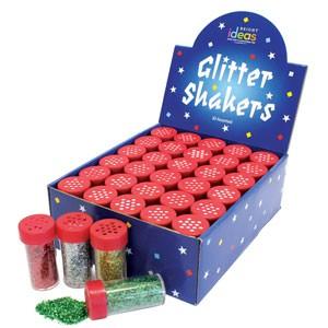 Glitter shaker 18g Red