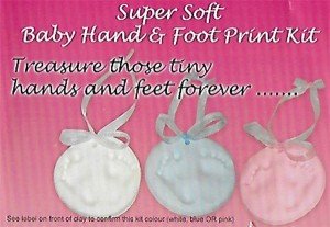 Soft Imprint Baby Clay Pink